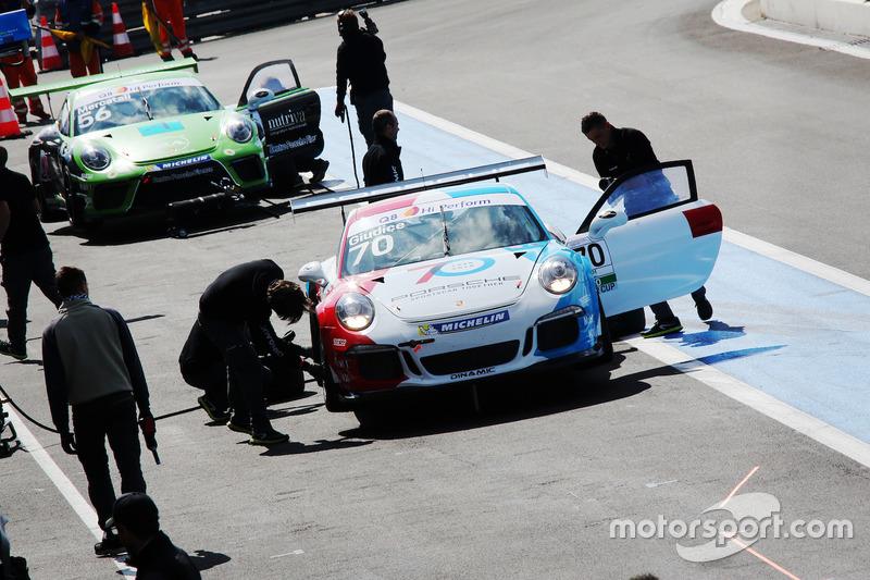 Claudio Giudice, Guest Car, in pit lane