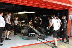 Lewis Hamilton garajda, Mercedes-AMG F1 W09