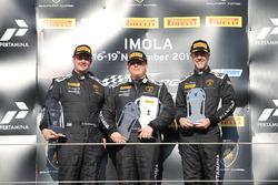 Podium Europe LB Cup: first place Gerard Van der Horst, Van Der Horst Motorsport, second place Willi