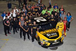 Matt Kenseth, Joe Gibbs Racing Toyota, Jamie McMurray, Chip Ganassi Racing Chevrolet
