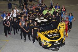 Matt Kenseth, Joe Gibbs Racing Toyota, mit Jamie McMurray, Chip Ganassi Racing Chevrolet