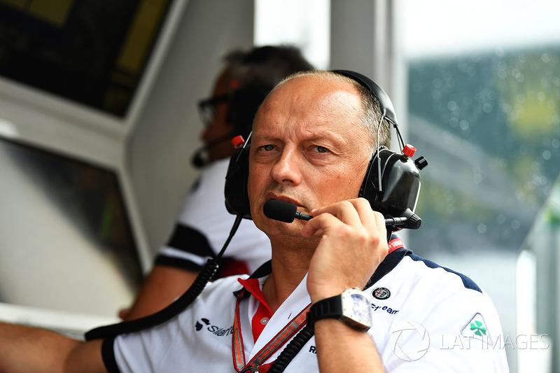 Frederic Vasseur, director de Sauber