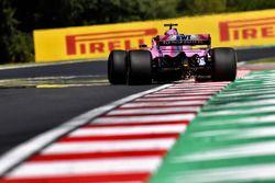 Sergio Perez, Force India VJM11 fait des étincelles