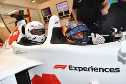 Patrick Friesacher, F1 Experiences 2-Seater driver and F1 Experiences 2-Seater passenger