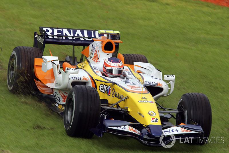 2007 - Débuts compliqués chez Renault