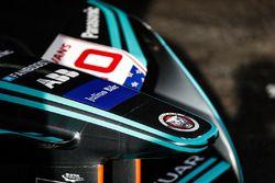 La voiture de Mitch Evans, Jaguar Racing