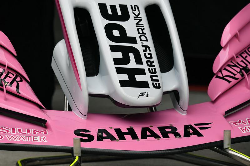 Force India VJM11 nose detail