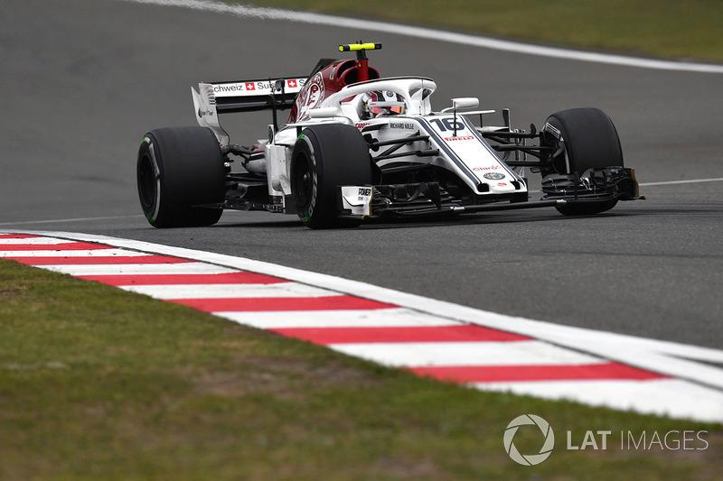 20 місце — Шарль Леклер, Sauber. Умовний бал — 5,363