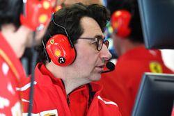 Mattia Binotto, directeur technique de Ferrari