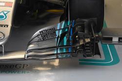 Detalle del coche de Valtteri Bottas, Mercedes AMG F1 W09