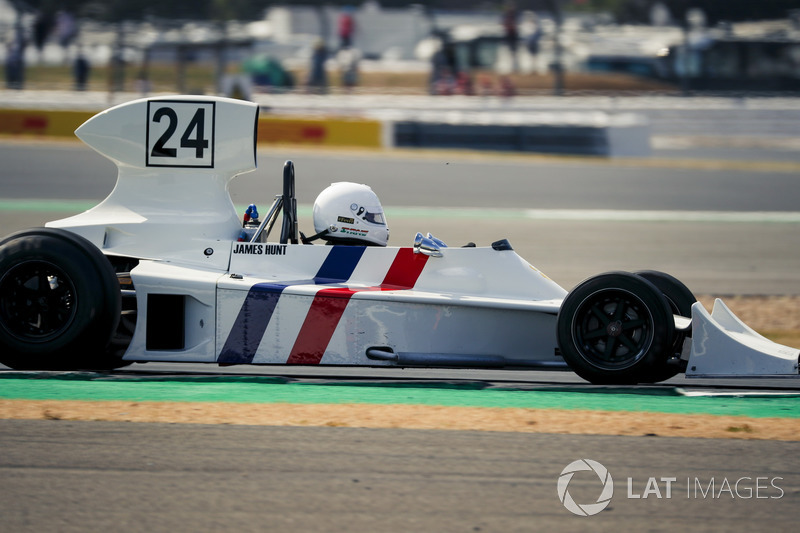 Hesketh 308 at Silverstone 70th Anniversary Parade
