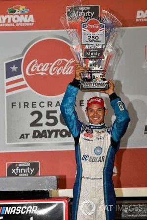 Kyle Larson, Chip Ganassi Racing, Chevrolet Camaro DC Solar wins