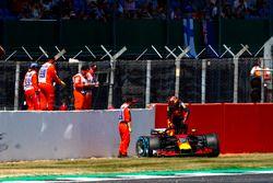 Max Verstappen, Red Bull Racing RB na crash