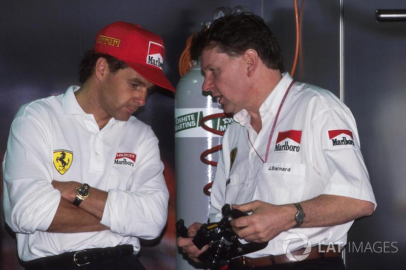 Ele passou por Senna e Prost, e, quando chegava à volta 23, viu Rene Arnoux na pista, reconhecido como retardatário difícil de lidar. Berger bateu de propósito na Ligier e abandonou a prova como herói. A história foi revelada tempos depois.