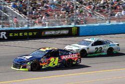William Byron, Hendrick Motorsports, Chevrolet Camaro AXALTA, Gray Gaulding, BK Racing, Toyota Camry