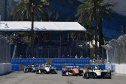 Zachary Claman DeMelo, Dale Coyne Racing Honda, Scott Dixon, Chip Ganassi Racing Honda