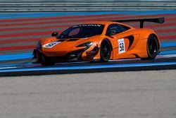 #59 Garage 59, McLaren 650 S GT3: Andrew Watson, Côme Ledogar, Ben Barnicoat