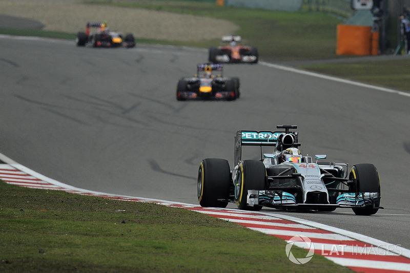 2014 Lewis Hamilton, Mercedes