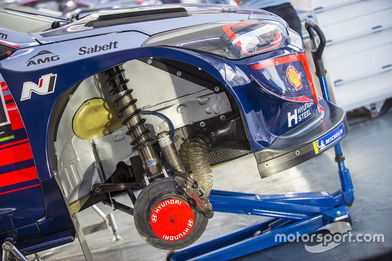 Hyundai Motorsport Hyundai i20 Coupe WRC detalle