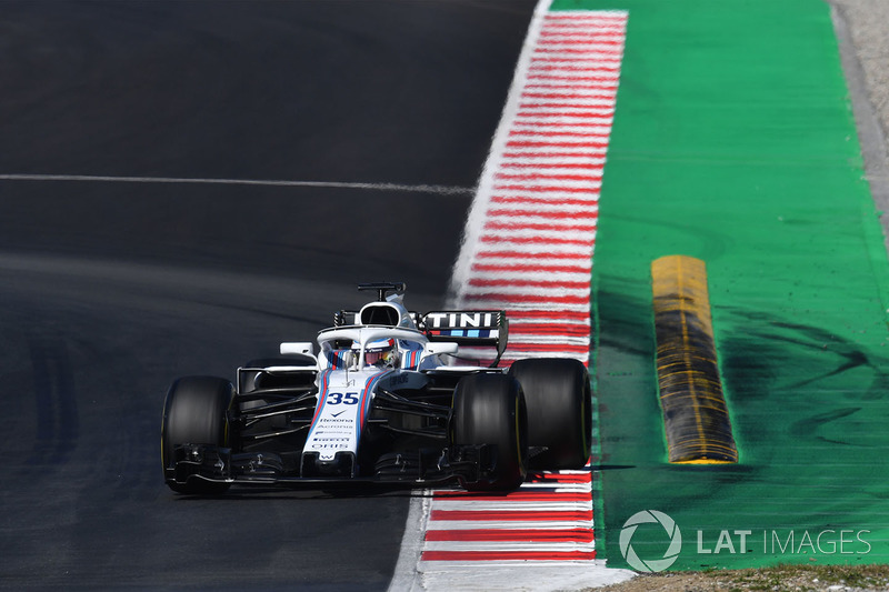 20. Sergey Sirotkin, Williams FW41