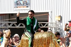 Race winner #2 Black Falcon Mercedes-AMG GT3: Abdulaziz Al Faisal