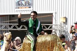 Racewinnaar #2 Black Falcon Mercedes-AMG GT3: Abdulaziz Al Faisal