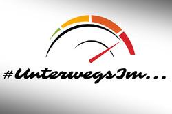#UnterwegsIm, logo