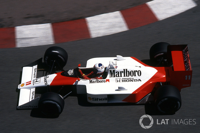 Alain Prost - McLaren MP4 / 4-Honda - GP de Mónaco 1987