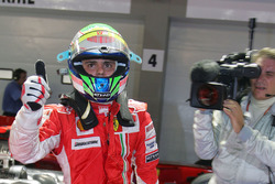 Ganador de la pole Felipe Massa, Ferrari F2008