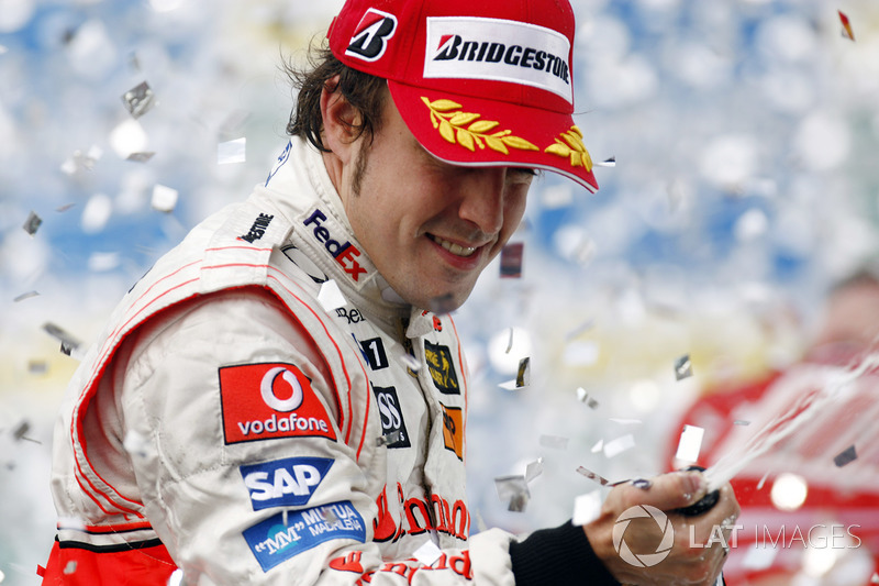 2007: Derde en een breuk met McLaren
