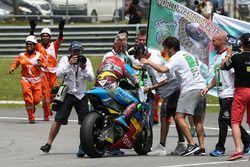 Tercer lugar y camepón, Franco Morbidelli, Marc VDS