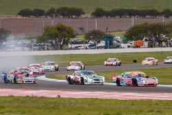 Camilo Echevarria, Alifraco Sport Chevrolet, Carlos Okulovich, Maquin Parts Racing Torino, Juan Martin Trucco, JMT Motorsport Dodge