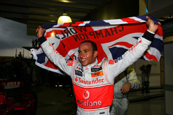 Lewis Hamilton, McLaren viert zijn wereldtitel