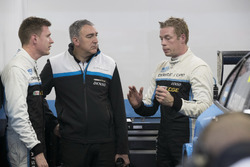 Nicky Catsburg, Polestar Cyan Racing, Volvo S60 Polestar TC1. Thed Björk, Polestar Cyan Racing, Volvo S60 Polestar TC1