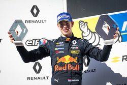 Richard Verschoor, MP Motorsport, op het podium