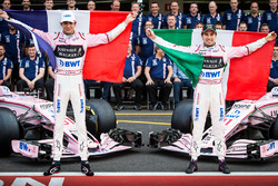 Esteban Ocon, Sahara Force India F1, Sergio Perez, Sahara Force India F1