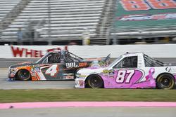 Christopher Bell, Kyle Busch Motorsports Toyota, Ty Dillon, MDM Motorsports Chevrolet