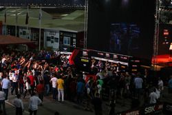 Top 3 Superpole: Jonathan Rea, Kawasaki Racing, Michael van der Mark, Pata Yamaha, Tom Sykes, Kawasa