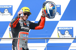 Podium: third place Sandro Cortese, Dynavolt IntactGP