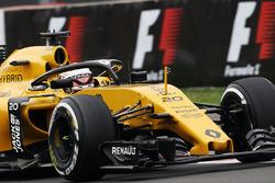 Kevin Magnussen, Renault Sport F1 Team RS16 mit dem Halo-Cockpitschutz
