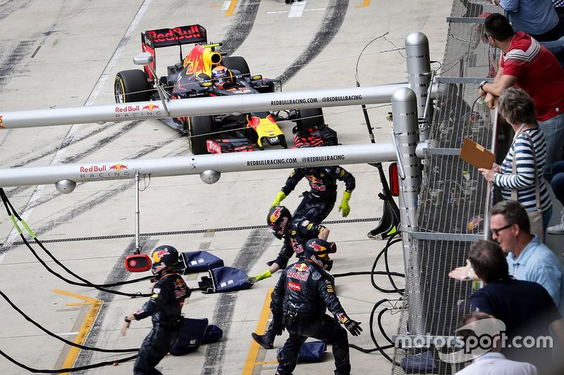 Abandon - Max Verstappen (Red Bull Racing)
