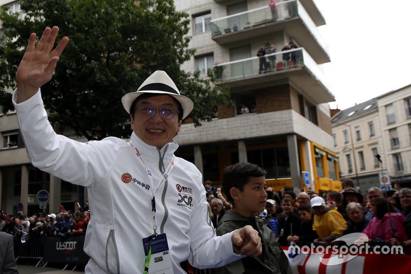El actor Jackie Chan