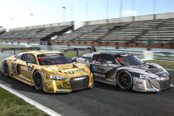 Alex Yoong and Alex Au, Phoenix Racing, Audi R8 LMS GT3 and Marchy Lee and Shaun Tong, Phoenix Racing, Audi R8 LMS GT3