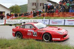 Walter Terribili, Ferrari 550 #44, EN.RO Competition