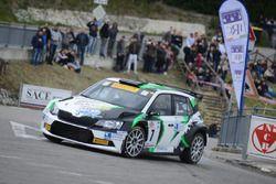 Luca Rossetti, Skoda Fabia R5, Dp Autosport