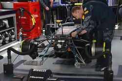 L'avant de la Red Bull Racing RB12