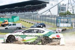 Crash: #8 Bentley Team ABT, Bentley Continental GT3: Fabian Hamprecht, Christer Jöns