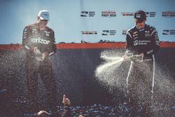 Sieger Simon Pagenaud, Team Penske, Chevrolet; 2. Will Power, Team Penske, Chevrolet