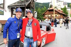 Mark Webber ve Christian Deutschbauer, Austin Healey 100-6 Bj. 1958