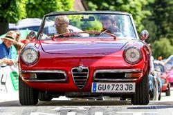 Peter Schöggl ve Helmut Artacker, Alfa Romeo Spider Veloce Bj. 1970